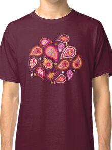 Colorful summer paisleys Classic T-Shirt