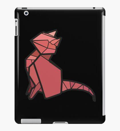 Origami Cat iPad Case/Skin