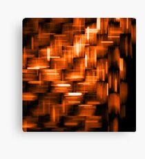 Fiery motion Canvas Print