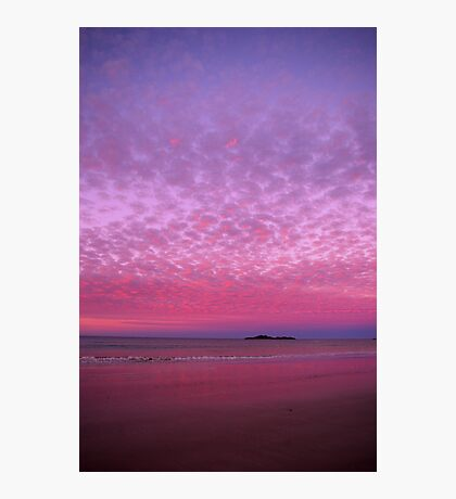 Fairy Floss Sunset Photographic Print