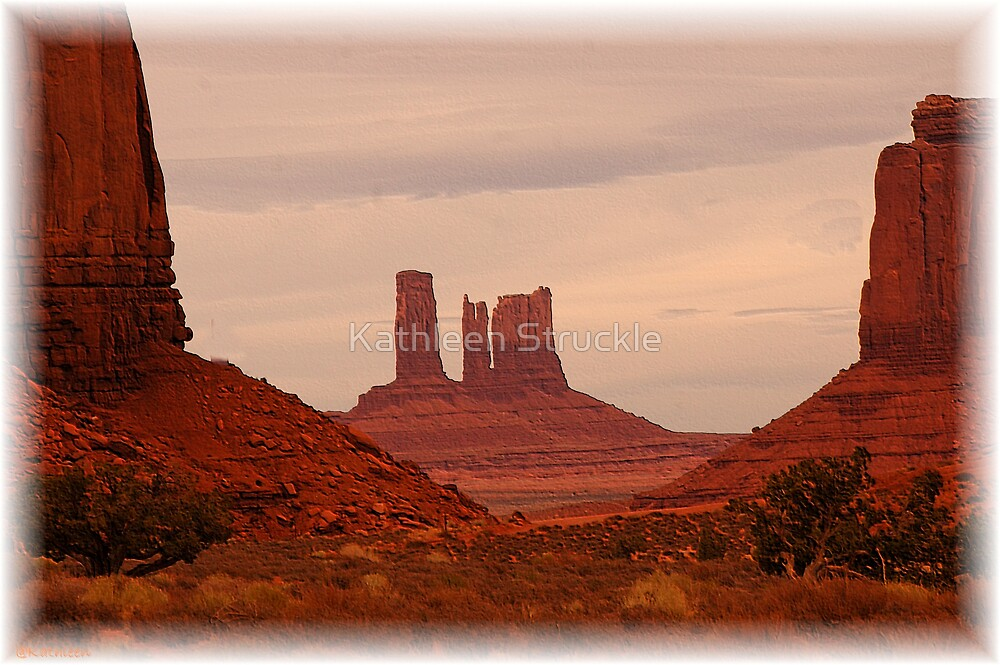 Monument Valley View by Kathleen Struckle