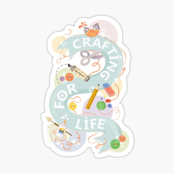 Crafting Sticker