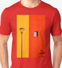 Streetlamp, window and wall Unisex T-Shirt