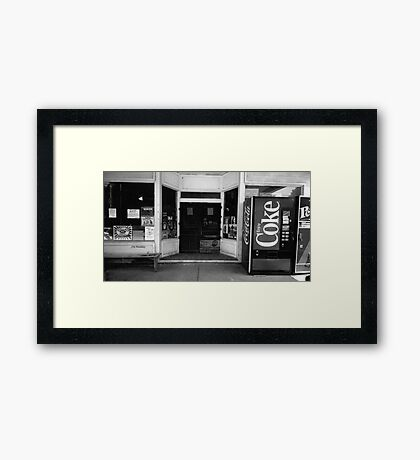 Country Store, Walling Tennessee Framed Print