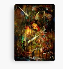 What About the Humans? Canvas Print