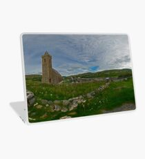 Glencolmcille Panorama with Church Laptop Skin