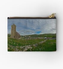 Glencolmcille Panorama with Church Studio Pouch