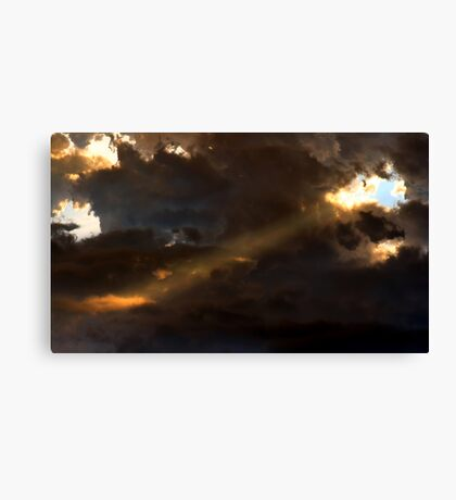 Heavenly Spotlight Canvas Print