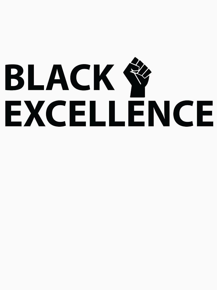 Puño negro de excelencia de almosthillwood