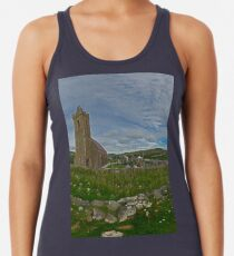 Glencolmcille Panorama with Church Women's Tank Top
