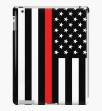Firefighter: Black Flag & Red Line iPad Case/Skin