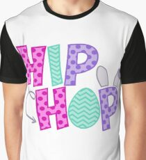 Hip Hope Easter Graphic T-Shirt