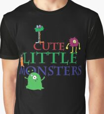Cute Little Monsters Graphic T-Shirt