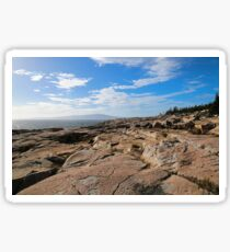 Rocky Shore Sticker