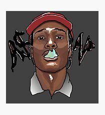 A$AP ROCKY - SMOKE Photographic Print