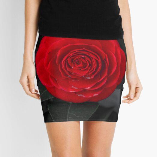 Red Rose Mini Skirt