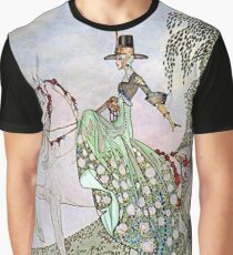 Kay Nielson Illustration for Norwegian Fairy Tales Graphic T-Shirt