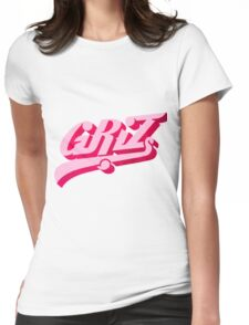 Pink Griz Womens Fitted T-Shirt