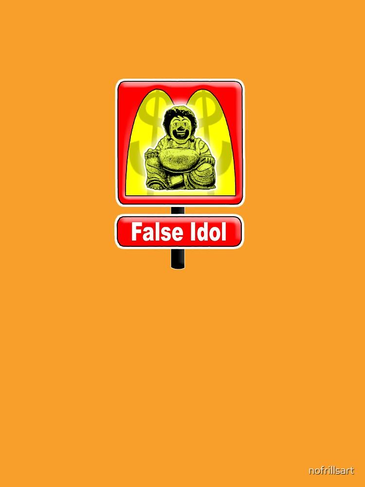 False Idol (Arch Enemy) by nofrillsart