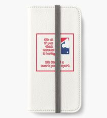 It's ok if you think... iPhone Wallet/Case/Skin