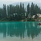 Emerald Lake by Carrie Cole