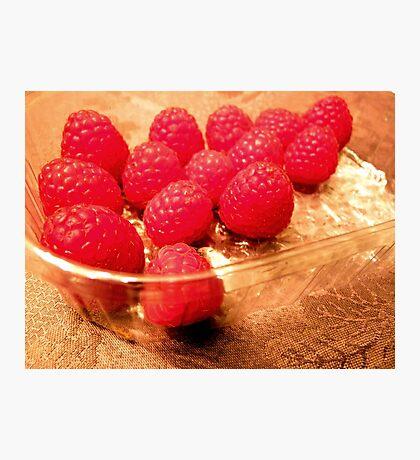 Fresh raspberries any time! Photographic Print
