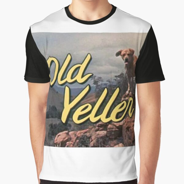 OLD YELLER Graphic T-Shirt