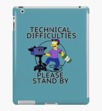Tech Difficulties  iPad Case/Skin