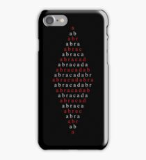 Spell Abracadabra iPhone Case/Skin