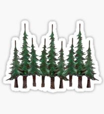 The Evergreens Sticker