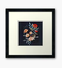 Midnight Bouquet Framed Print