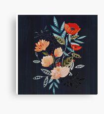 Midnight Bouquet Canvas Print