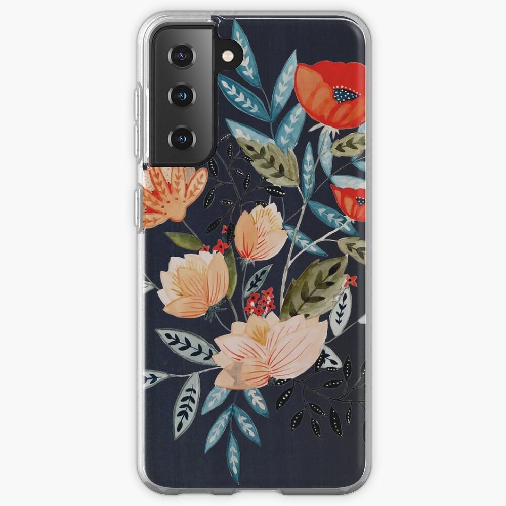 Midnight Bouquet Case & Skin for Samsung Galaxy