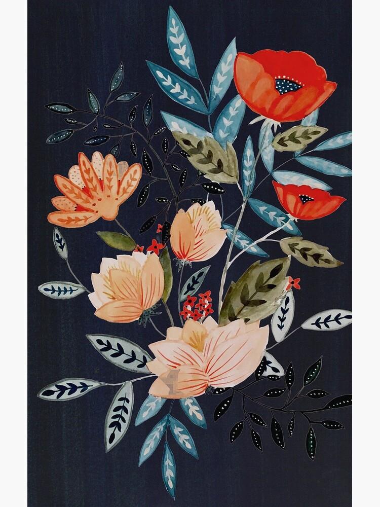 Midnight Bouquet by hikomari