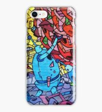 Robot Graffiti iPhone Case/Skin