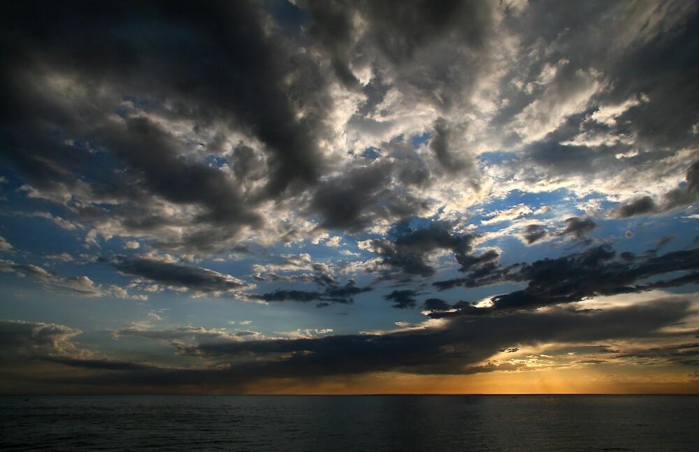 Dusk Clouds by Gavan  Mitchell
