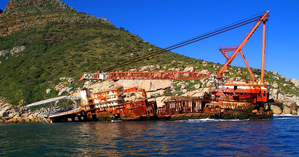 Ship Wreck by Wazi