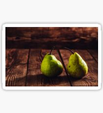 Two Pears Sticker