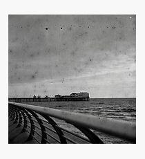 Blackpool Coast and Pier Photographic Print
