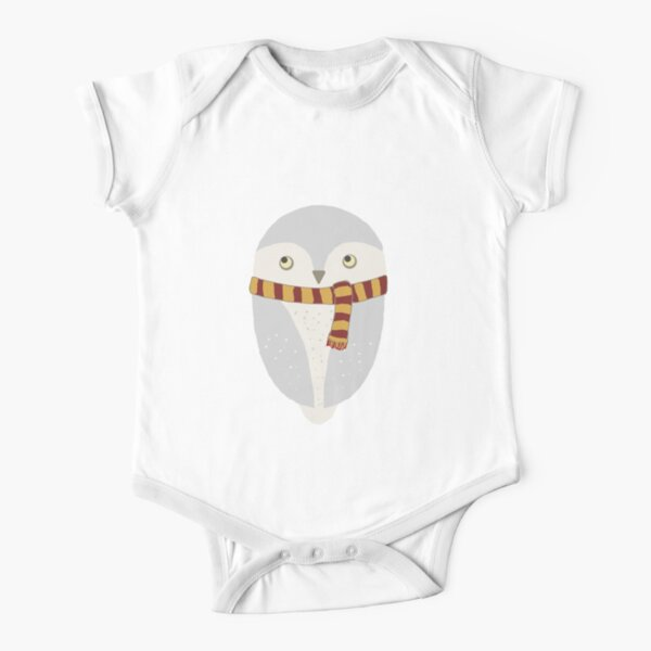Hedwig Short Sleeve Baby One-Piece