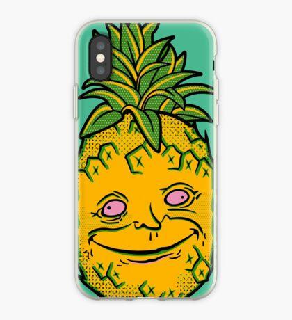 Happy Pineapple iPhone Case