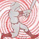 Baseball Head by storecee