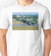 SAAB Viggen on Tiptoe Unisex T-Shirt