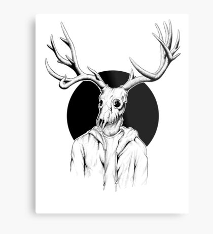 Perkele himself Metal Print