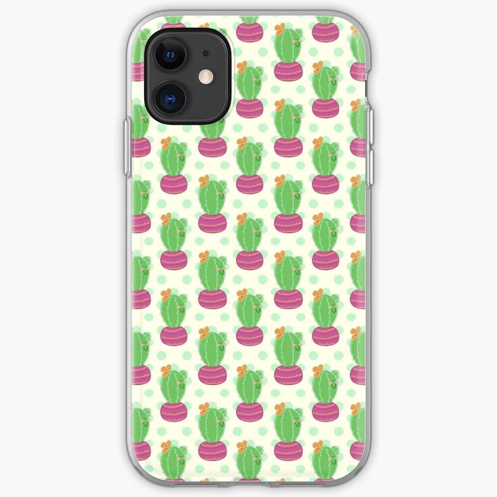 Happy Little Cactus iPhone Case & Cover