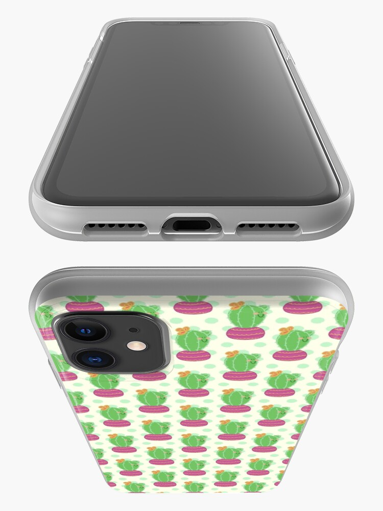 Alternate view of Happy Little Cactus iPhone Case & Cover