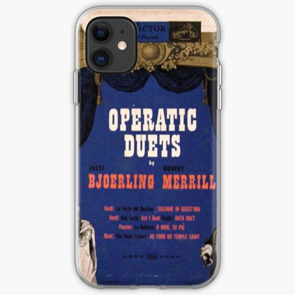 "Operatic Duets, 10"" lp, early 50's iPhone Soft Case"