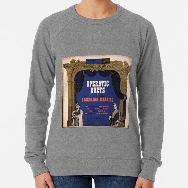 "Operatic Duets, 10"" lp, early 50's Lightweight Sweatshirt"