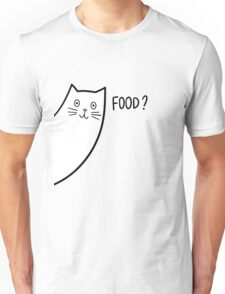 CAT :: SOMEONE SAID FOOD? Unisex T-Shirt