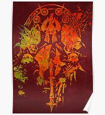 Warcraft Death Knight Emblem Poster